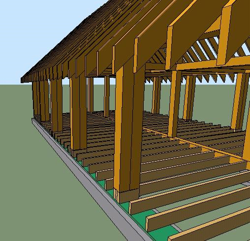 Basic cordwood house plans house construction for Cordwood house foundation